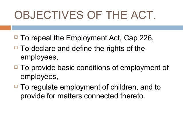 Basic conditions of employment act sexual harassment