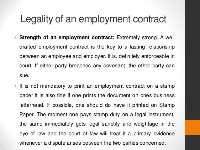 Contract Employee Agreement Filename PoeaStandardEmployment