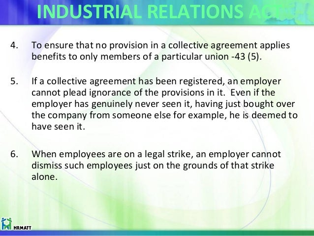 the industrial relations act 1973 arrangement Analysed, and it is argued that many industrial relations institutions provide a  much  forgotten that collective agreements involve the agreement of employers  who are thus  works constitution act hence, the law cannot be considered to  be  nor is there evidence of such practices in japan (dore 1973, aoki 1988)  in.