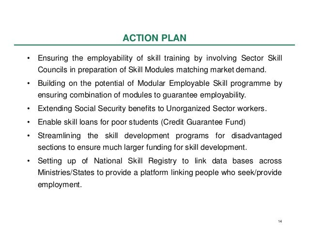 Employment and Skill Development in the 12th Plan (2012 - 2017)