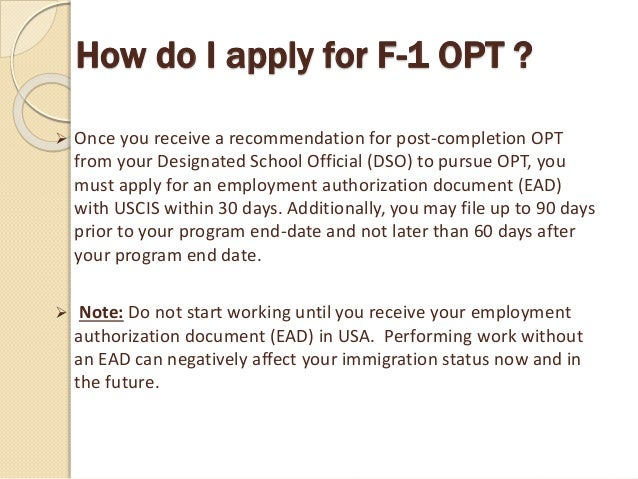 What Is Ead ? Work Permit In Usa