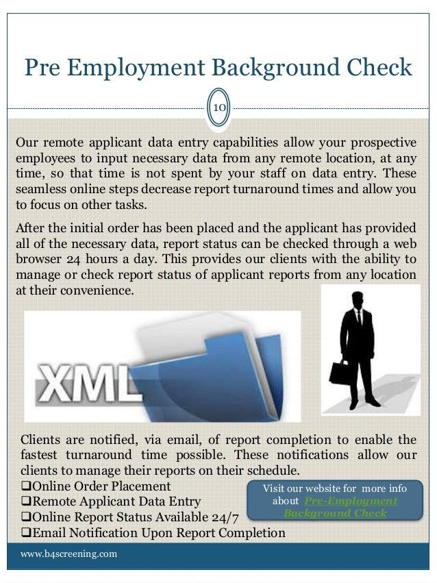 dating background check employment verify pre