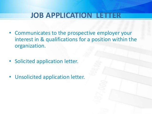 unsolicited application letters to prospective employers 19doc uploaded by id7mi save  19doc for later  unsolicited application letters to prospective employers a) require more research than solicited letters .