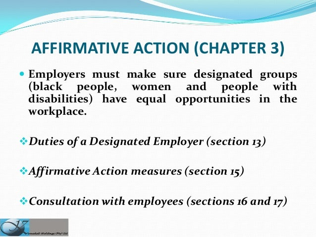 affirmative action in sa