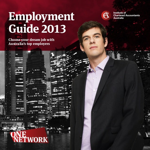 EmploymentGuide 2013Choose your dream job withAustralia's top employers
