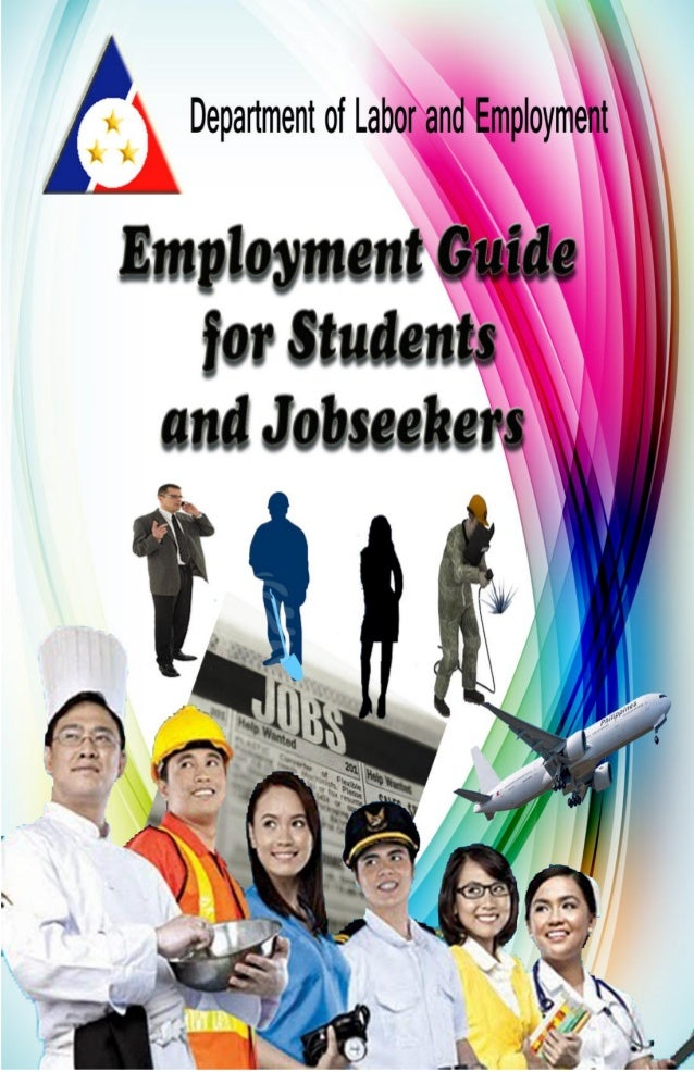 3 Introduction This Employment Guide for Students and Jobseekers brings together in one publication the various programs a...