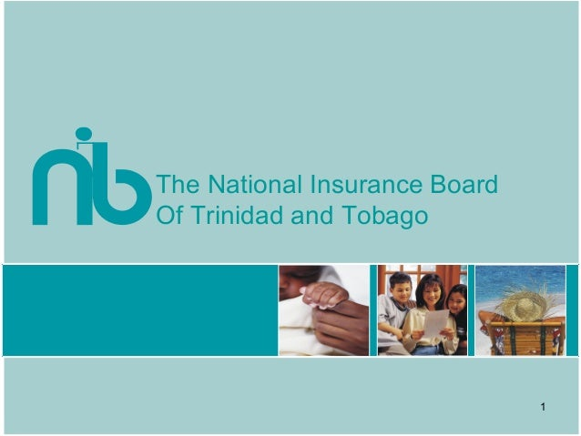 The National Insurance BoardOf Trinidad and Tobago1