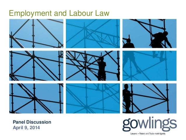 Employment and Labour Law Panel Discussion April 9, 2014
