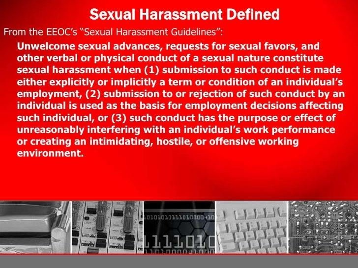 Employment Law Harassment