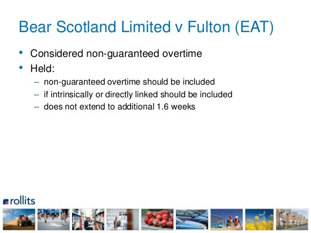 EAT: voluntary overtime payments must be included in calculation ...