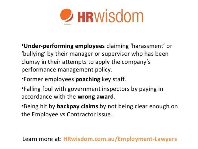 Australian Employment Lawyers Amp Employment Law Advice