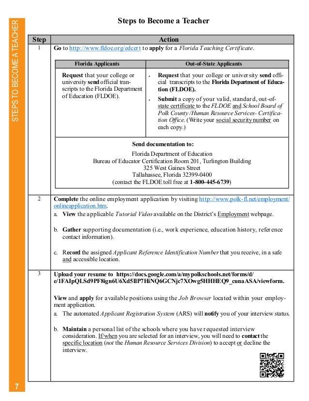 Polk County Public Schools Information