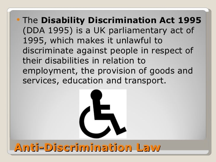 discrimination disabilities essay Free disability papers, essays strong essays: disability discrimination act - disability discrimination act this act was passed in 1995 the disability.