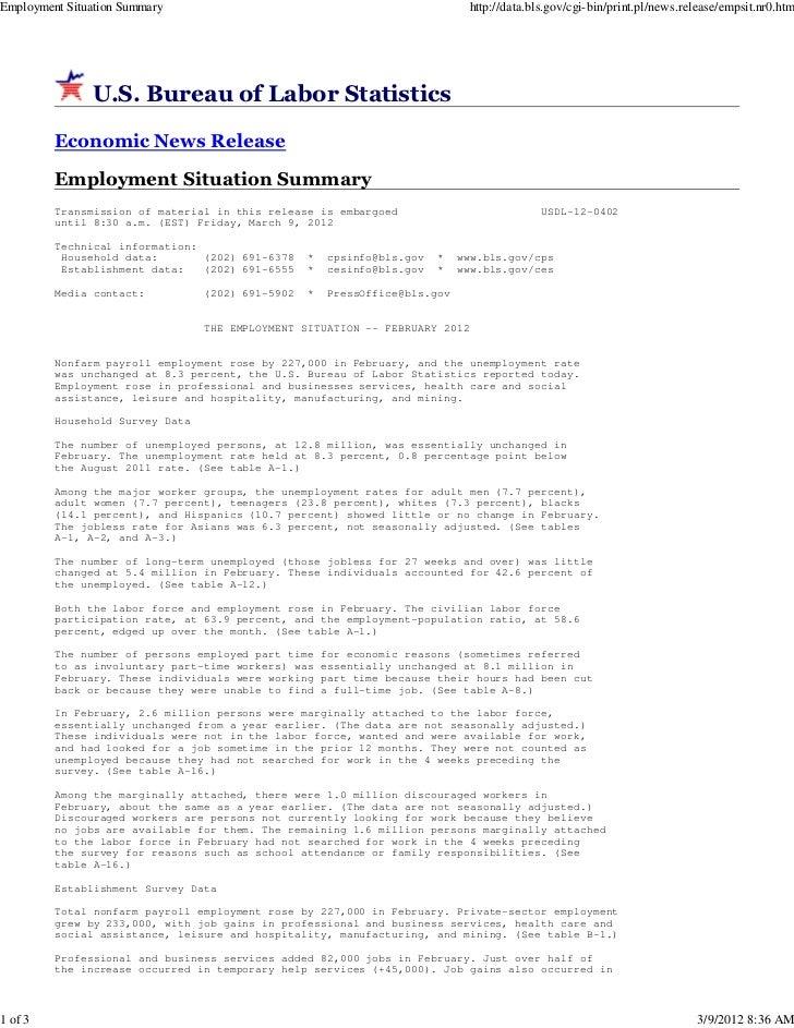 Employment Situation Summary                                                   http://data.bls.gov/cgi-bin/print.pl/news.r...