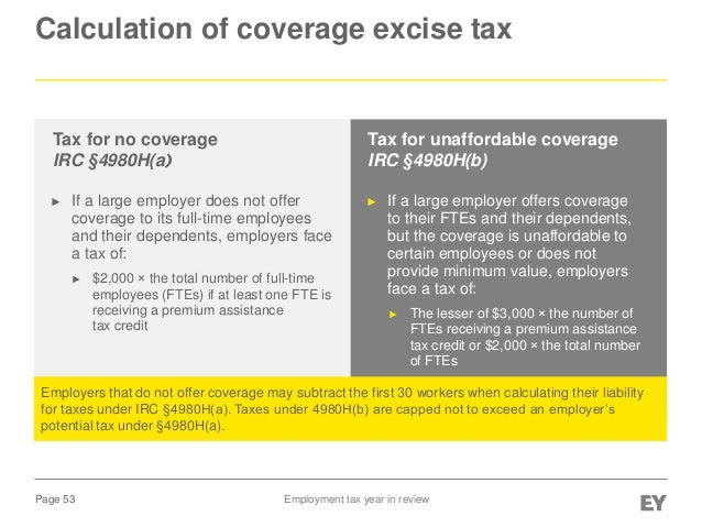 EY - US Employment Tax Year in Review (November 2013)
