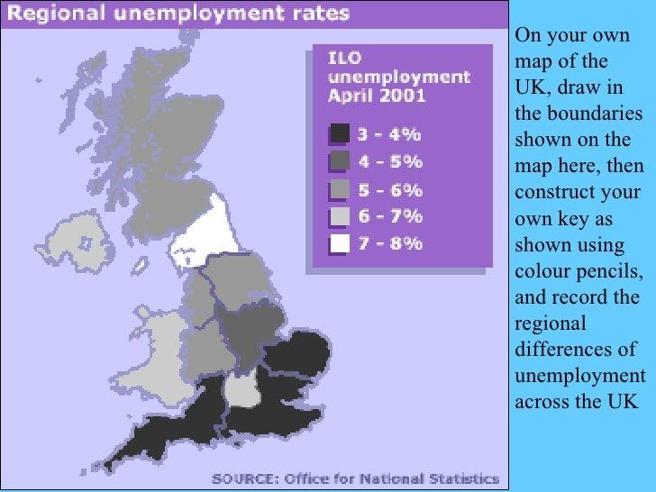 Map Of Uk Unemployment.Employment Unemployment Changing Society Tb