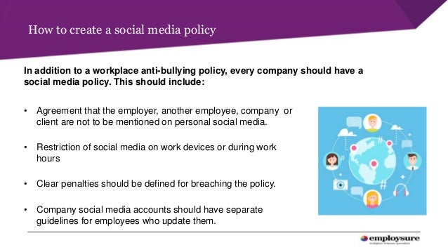 Employsure Workplace Presentation Social Media In The Workplace