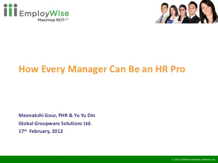 Employ wise webinars   how every manager can be an hr pro