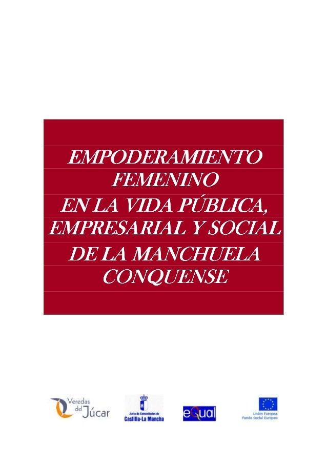 EMPODERAMIENTOEMPODERAMIENTOEMPODERAMIENTOEMPODERAMIENTO FEMENINOFEMENINOFEMENINOFEMENINO EN LA VIDA PÚBLICA,EN LA VIDA PÚ...