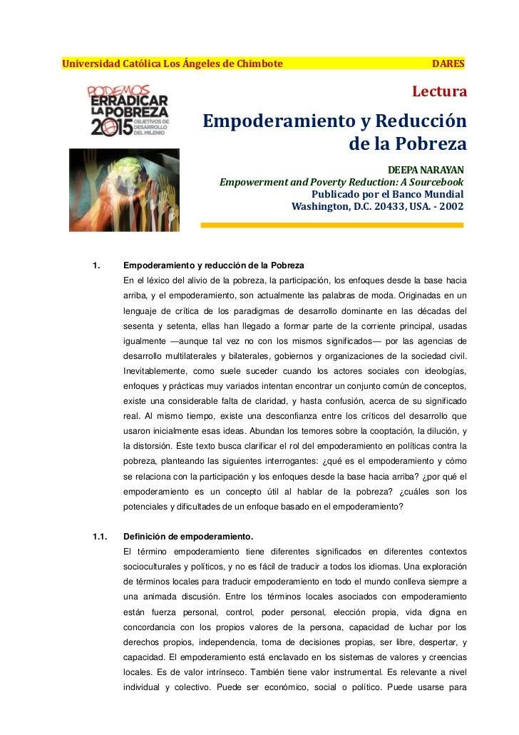 Universidad Católica Los Ángeles de Chimbote                                                  DARES                       ...