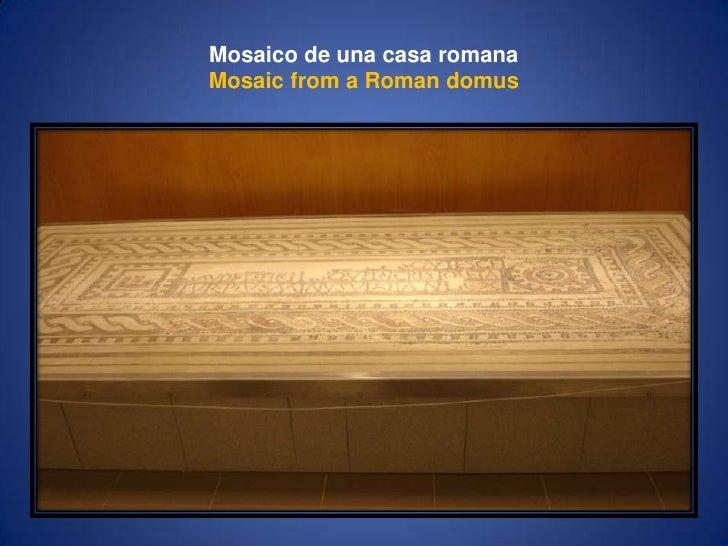 Mosaico de una casa romanaMosaicfrom a Romandomus<br />