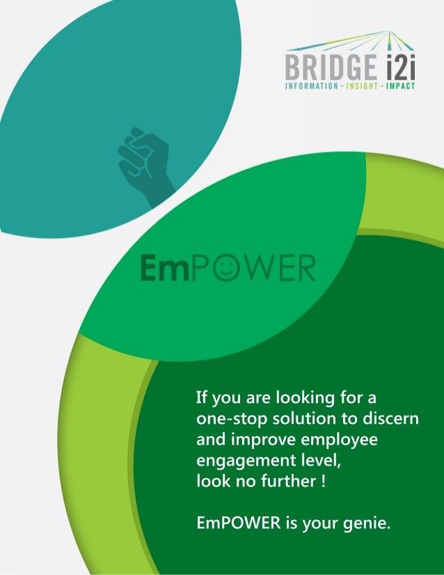 employee engagement analytics suite empower flyer