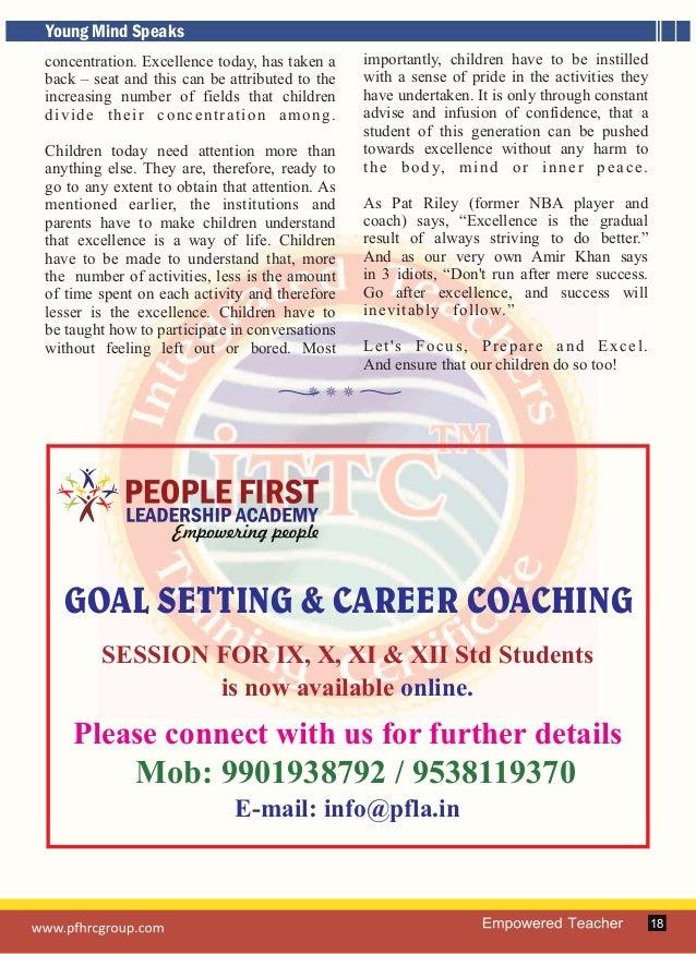 Empowered Teacher_June to Nov. 2015