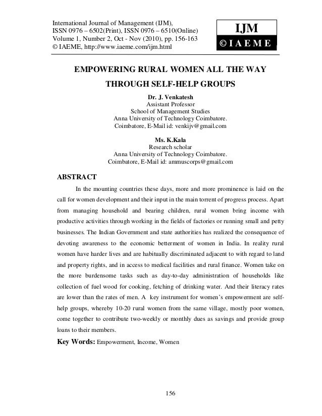 International Journal of Management (IJM), – 6502(Print), ISSN 0976 – 6510(Online)  International Journal of Management (I...