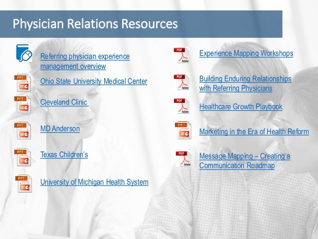 Patient Experience Resources University of Michigan Health System MD Anderson Linking Marketing and Operations 2012 Benchm...