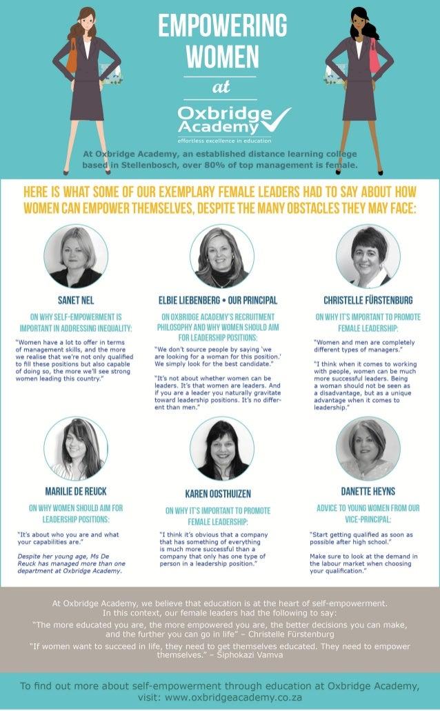 Empowering Women at Oxbridge Academy