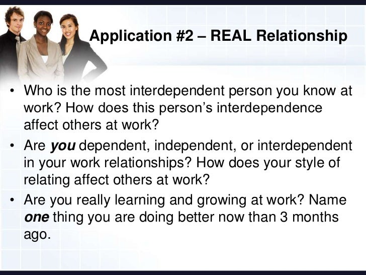 relationships at work Such relationships exist when either family members, domestic partners, significant others and/or similar personal relationships could have supervisory authority over the other's performance evaluation, salary, work hours, or other conditions of employment.