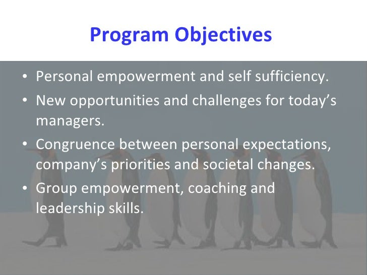 Empowerment-TRAINING Slide 3