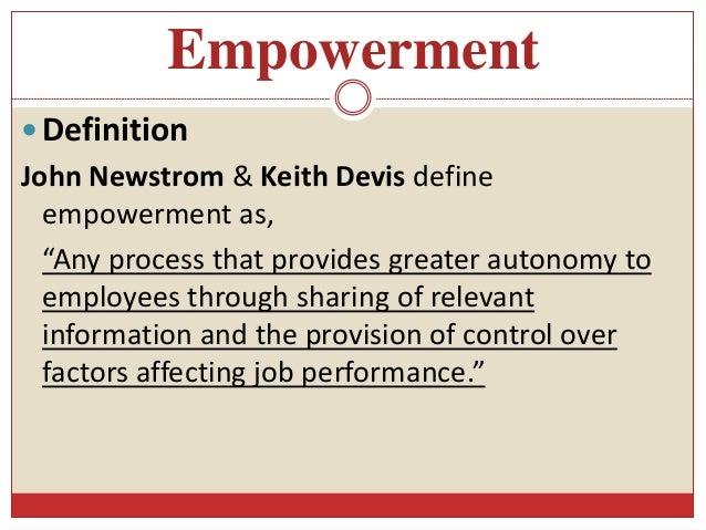 Empowerment  Definition ...