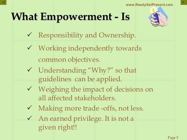 the definition of empowerment nursing essay Empowermental nursing experiences of empowerment and disempowerment made by patients in need of long term nursing authors veijo isokäänt.