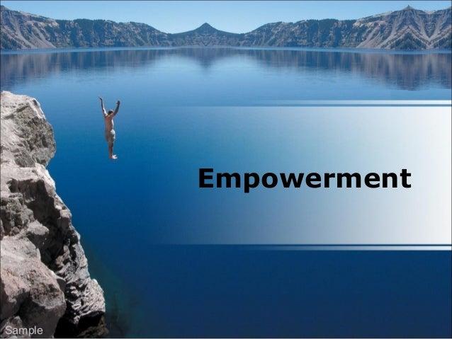 Empowerment Sample