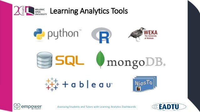 Assessing Students and Tutors with Learning Analytics Dashboards Learning Analytics Tools