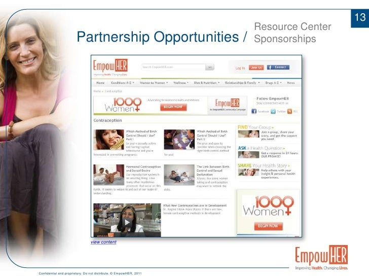 Featured in major media reaching over 40 million households</li></li></ul><li>7<br />Partnership Opportunities /<br />Ove...