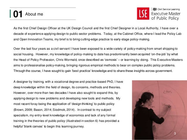 Reflecting on the LSE Executive Masters in Public Policy
