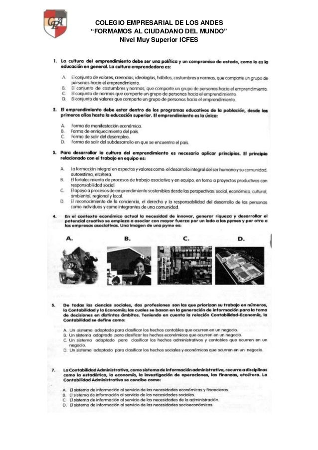 """COLEGIO EMPRESARIAL DE LOS ANDES """"FORMAMOS AL CIUDADANO DEL MUNDO"""" Nivel Muy Superior ICFES"""