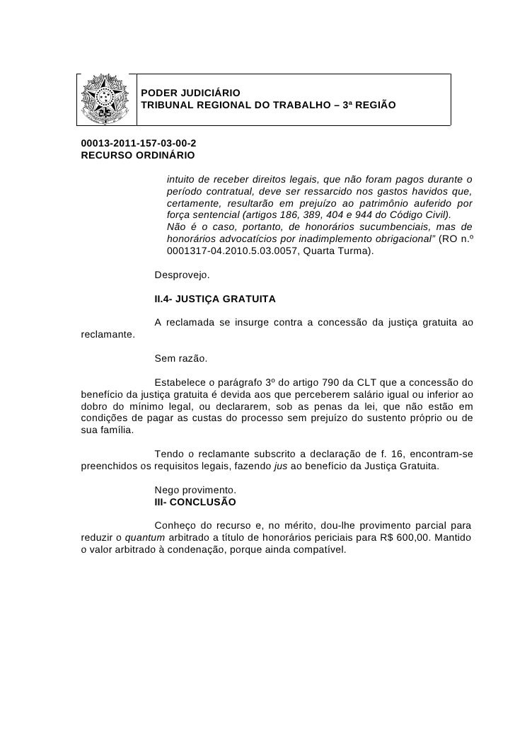 Artigo 791 clt