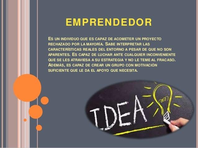 Emprendedor Slide 2