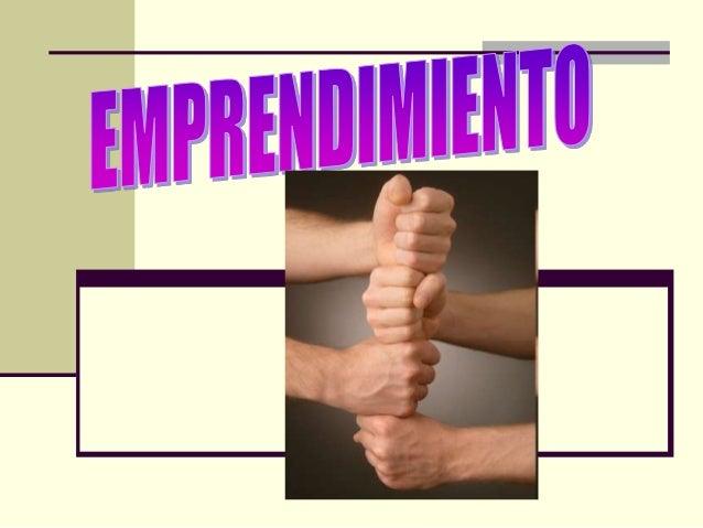 CONCEPTOS BÁSICOS Aunque el emprendimiento siempre ha estado presente a lo largo de la historia de la humanidad, pues es i...