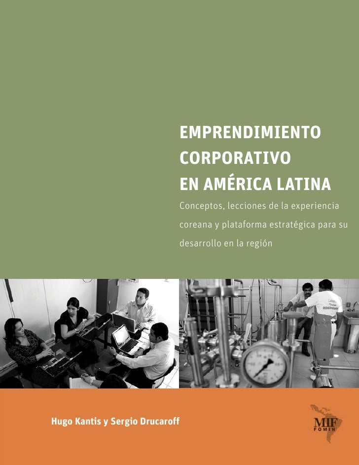 EMPRENDIMIENTO                               CORPORATIVO                               EN AMÉRICA LATINA                  ...