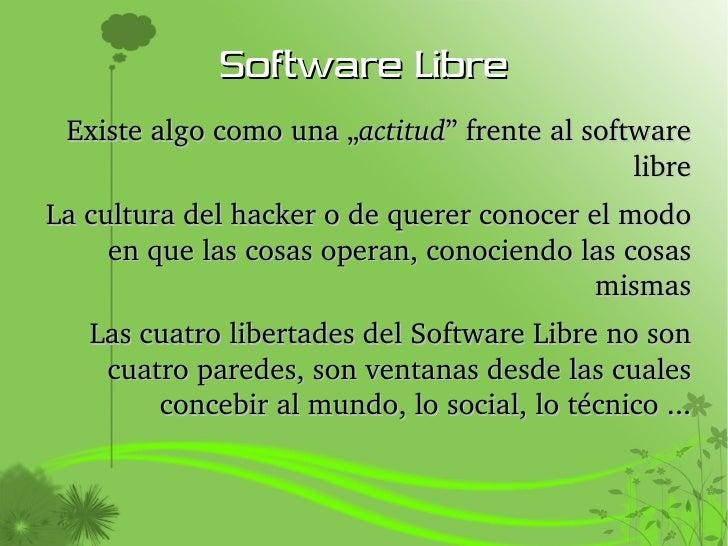 Emprendimientos Y Software Libre Slide 3