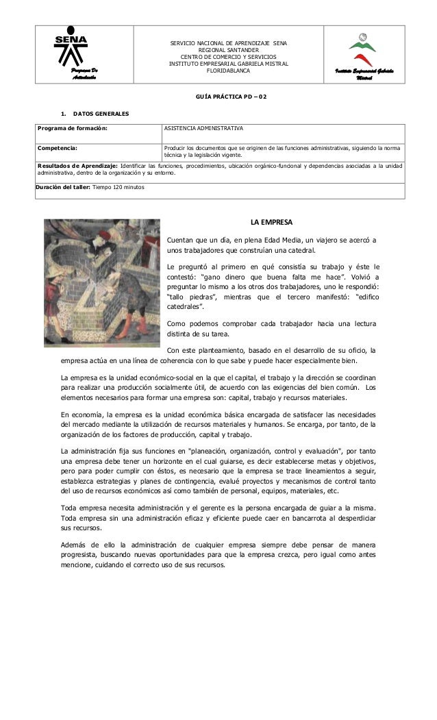SERVICIO NACIONAL DE APRENDIZAJE SENA                                                          REGIONAL SANTANDER         ...