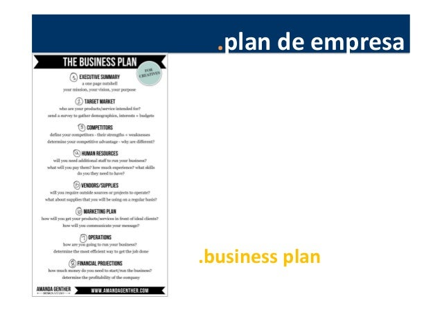 .plan  de  empresa            .business  plan
