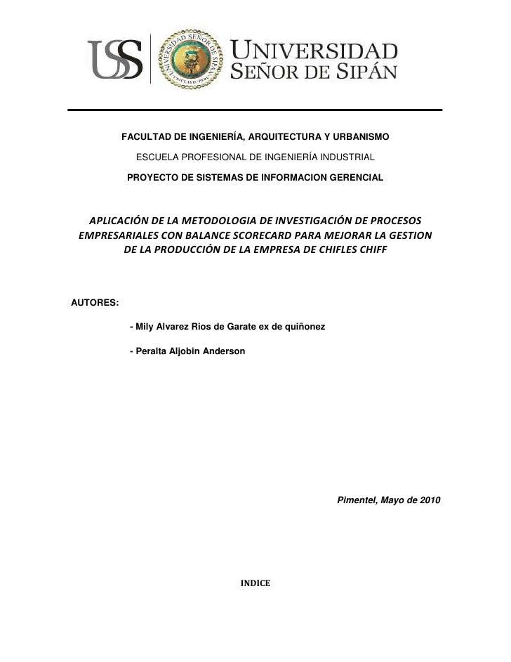 161133-501443<br />FACULTAD DE INGENIERÍA, ARQUITECTURA Y URBANISMO<br />ESCUELA PROFESIONAL DE INGENIERÍA INDUSTRIAL<br /...