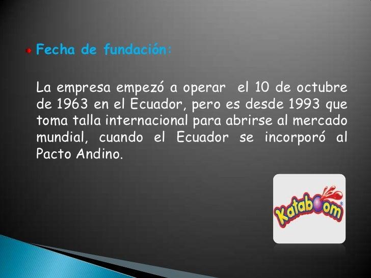 Empresa confiteca Slide 2