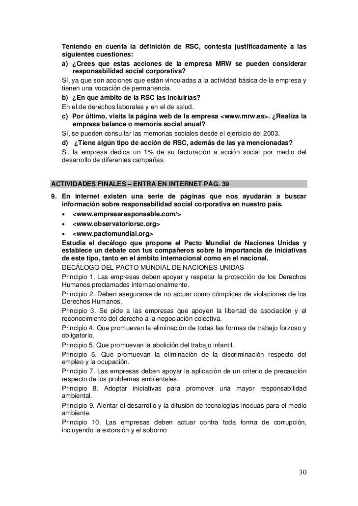 Teniendo en cuenta la definición de RSC, contesta justificadamente a las   siguientes cuestiones:   a) ¿Crees que estas ac...