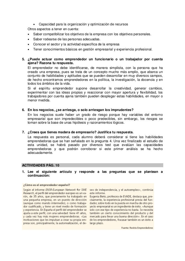 • Capacidad para la organización y optimización de recursos   Otros aspectos a tener en cuenta:   • Saber compatibilizar l...